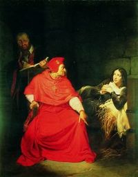 200px-Delaroche_-_Beaufort_and_Joan_of_Arc