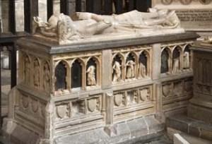 Tomb of John of Eltham, Westminster Abbey.