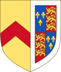 330px-Arms_of_Anne_of_Gloucester,_Countess_of_Stafford.svg