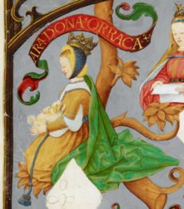 D._Urraca_de_Castela,_Rainha_de_Portugal_-_The_Portuguese_Genealogy_(Genealogia_dos_Reis_de_Portugal)