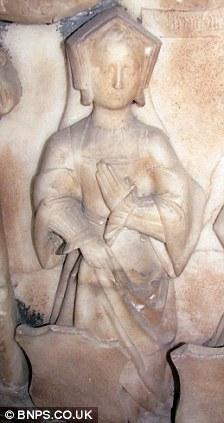 Effigy of Elizabeth Blount
