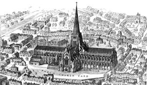 585px-St_Paul's_old._From_Francis_Bond,_Early_Christian_Architecture._Last_book_1913.